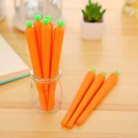 Cute Carrot Shaped New Stationery Neutral Pen School Office Supply Gel Pen
