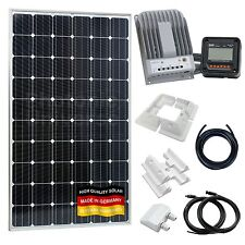 310 W 12V/24V Kit de carga solar para autocaravana, caravana, caravanas, barco, Cctv