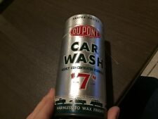 FORD,MUSTANG,THUNDERBIRD,LINCOLN.CADILLAC,BUICK,CHEVROLET,DUPONT CAR WASHCAN