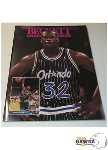 August 1993 Beckett Basketball Monthly #37 - Shaquille O'Neal Cover
