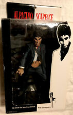 Al Pacino Scarface Mezco Action Figure The Rise With Blood & Rage Face