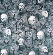 Cráneo Gótico Murciélago desplazamiento Diadema bandana quimio bufanda de cabeza de algodón de desgaste