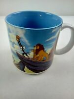 Disney The Lion King Simba Rafiki Coffee Mug Cup Japan Vintage Collectible