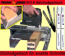 statt  Kreissäge Kappsäge die Gehrungssäge 012H+Sägeblätter Makita Bosch Festool