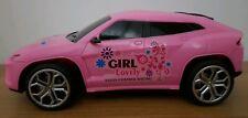 LAMBO URUS SUV GIRLS PINK WHITE Radio Remote Control Car Scale 1:18 FAST SPEED