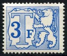 Belgium 1966-82 SG#D1984, 3f Postage Due Ord. Paper MH #D48282