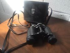 Hanimex binoculars 8 x 30mm With Case And Lens Covers