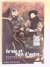 L'AVANT SCENE CINEMA N° 388 / 01/1990 / LA VIE ET RIEN D'AUTRE / B. TAVERNIER