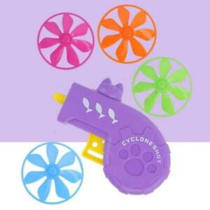 Cat Fetch Track Toy Flying Propellers Disc Saucers Interactive Dogs Pet Chaser