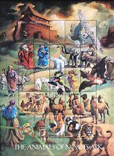 LIBERIA ANIMALS OF NOAHS ARK STAMP SHEET 25V 1998 MNH WILDLIFE ELEPHANT LION OWL