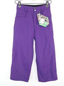 Volcom Flint Pants Youth Size M Snowboard Pants Purple