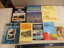 8 COLORADO GHOST TOWNS ROADSIDE GEOLOGY MINING CAMPS UTAH HISTORICAL ATLAS