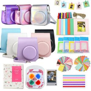 For Fujifilm Instax Mini 11 Film Camera Case Cover Carry Bag 10-IN-1 Kits Album