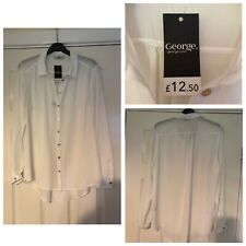 George White Shirt New With Defects Size 12 (A416)