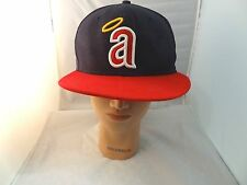 Los Angeles Angels Of Anaheim Cooperstown Collection Fitted Hat Sz 71/2 59.6cm