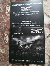 DARK FURY/POPRAVA-furor slavica-LP-black metal
