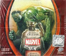 VS VERSUS SYSTEM MARVEL Origins BOX 24 PACKS NEW SEALED ENG