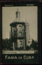 JOHANESBURGO TOBACCO CARD, FAMA DE CUBA CIGARETTES VENEZUELA CIRCA 1910
