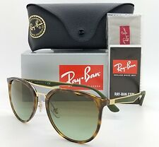 NEW Rayban Sunglasses RB4285 6372E8 55mm Tortoise Green Brown Gradient AUTHENTIC