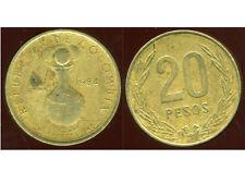COLOMBIE 20 pesos 1984