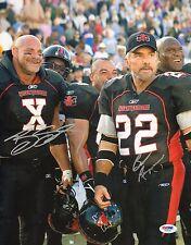 Burt Reynolds & Bill Goldberg Signed Longest Yard 11x14 Photo PSA/DNA COA Auto'd