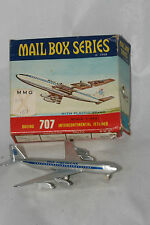 1960's Frankonia Mail Box Series Pan American Boeing 707 Jetliner, Boxed
