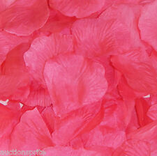 Silk Rose Petals Wedding Flower Bridal Girl's Basket Decoration Party 40 Colors