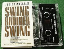 Swing Brother Swing 16 Big Band Greats Dizzy Gillespie + Cassette Tape - TESTED