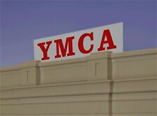 Miller's YMCA Animated Neon Sign O/HO Scale # 2071 MILLER ENGINEERING