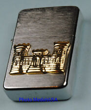 CORPS OF ENGINEERS WIND PROOF PREMIUM LIGHTER IN A GIFT BOX  ARMY   SBC25