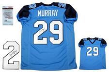 DEMARCO MURRAY Signed Jersey - JSA Witness - Tennessee Titans Autographed - PB