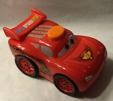 Disney Cars 2010 RED Toy McQueen Car PISTON CUP World Grand Prix 95 Fisher Price