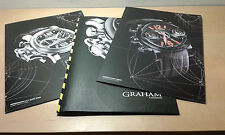 Used - GRAHAM - Dossier of press watches - Item For Collectors