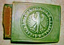 militaria boucle ceinturon militaire ancien aigle allemand recht freiheit rare