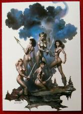 IMAGES OF JOSEPHINE - Individual Card #64 - AMAZON QUEEN by Boris Vallejo - 1997