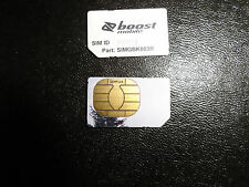 *New Nextel Boost Mobile Iden Sim Card For iDen Service Only* Ready For Use
