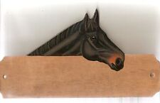 TB thoroughbred horse stable/stall/barn name plate/plaque/sign personalised gift