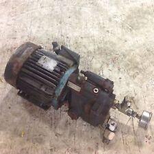 PARKER PISTON PUMP W/ 145TCZ LEROY SOMER 3HP MOTOR PVP1630R211 *PZB*