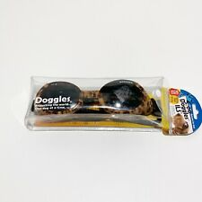 Doggles ILS Leopard/Smoke  LenS Sz M Goggles Sunglasses Eye Protection for Dogs