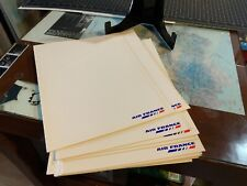 """Air France Collectible Folder Rare d'Air France Cover 12x9"""" Printed In France"""