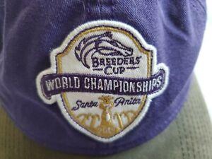 BREEDERS CUP OFFICIAL 2019 WORLD CHAMPIONSHIP SANTA ANITA ADJUSTABLE CAP/HAT