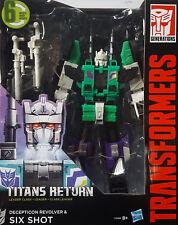 HASBRO® C0286 Transformers Generations Titans Return Leader Class Six Shot