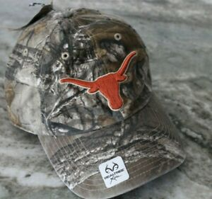 47 Brand Baseball Cap Hat Texas Longhorns Realtree Fitted Size Medium