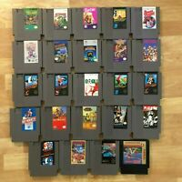 Lot of 24 Nintendo Entertainment System NES Games | Great Condition | Used | C12