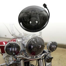 "7"" Daymaker Projector Headlight for Harley Softail Deluxe Fat Boy FLD FLS Slim"