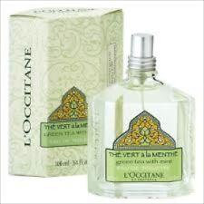 L'Occitane  GREEN  TEA  & MINT EAU De Toilette 3.4oz NIB