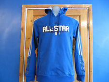 MENS ADIDAS HOODIE, BLUE  , SIZE S, ALLSTAR