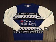 Toronto Blue Jays NEW Mens XX-Large Ugly Christmas Sweater . MLB Baseball Gift