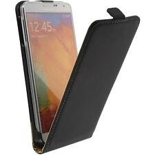 Couverture en cuir artificiel Samsung Galaxy Note 3 Flip-Case noir