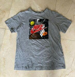 "Boy's Nike Gray ""The Nike Tee"" Shirt Size X-Large EUC"